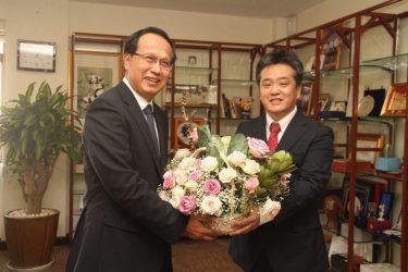 カンボジアのパンソラサック商務大臣にお会いするためにカンボジア商務省を訪問してきました。