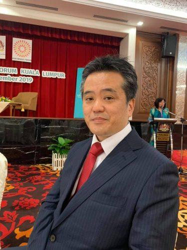 マレーシアの国会議事堂でアジアの起業家に向けてスピーチをしました。
